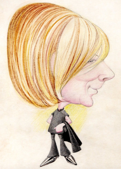 Caricature of Jennifer Williamson